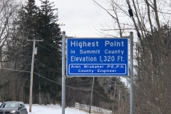 Operated right next to this sign from Summit Co.